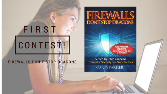 Firewalls Don't Stop Dragons Online Security and Privacy Guide FREE Giveaway/Contest