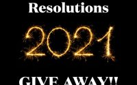 2021 New Year's Resolutions Giveaway!