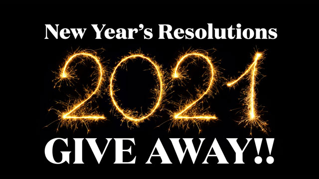 2021 New Year's Resolutions Giveaway