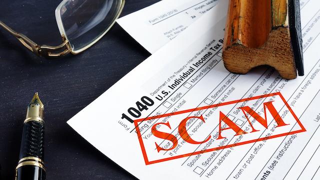 tax scam